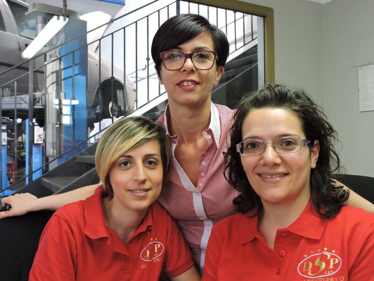 Tina, Anna e Gemma