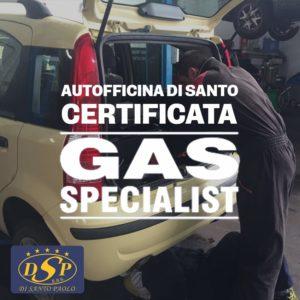 officina certificata gas specialist - Autofficina Di Santo, San Salvo