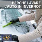 Perché lavare l'auto in inverno?