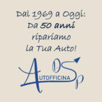 DAL 1969 A OGGI: DA 50 ANNI RIPARIAMO LA TUA AUTO