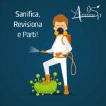 Sanifica, Revisiona e Parti con Autofficina Di Santo di San Salvo!!