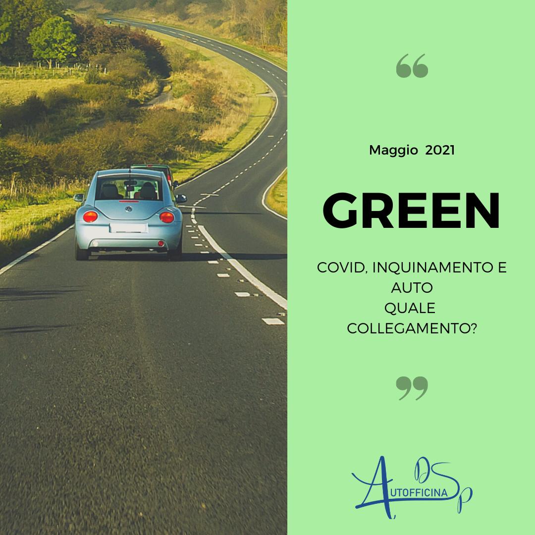 Covid, inquinamento e auto